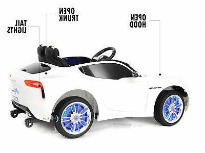 Ride On 12V Electric Toy Remote wheels