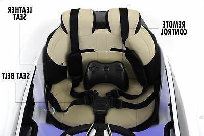 Ride 12V Electric Maserati Control