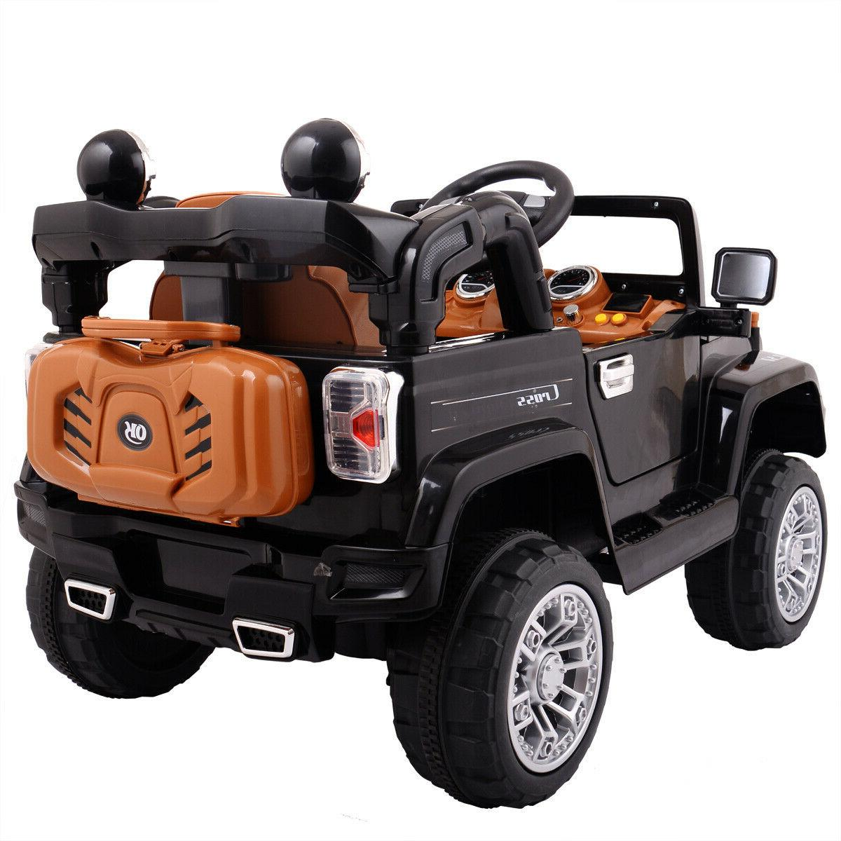 Ride Jeep Style Truck 12V Battery Powered Toy Remote