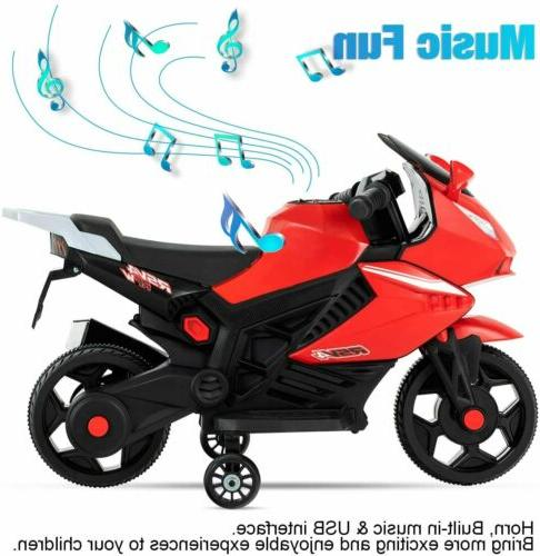 Electric Battery Motorbike With Wheels