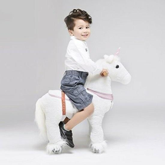 ride on pony riding horse walking gallop