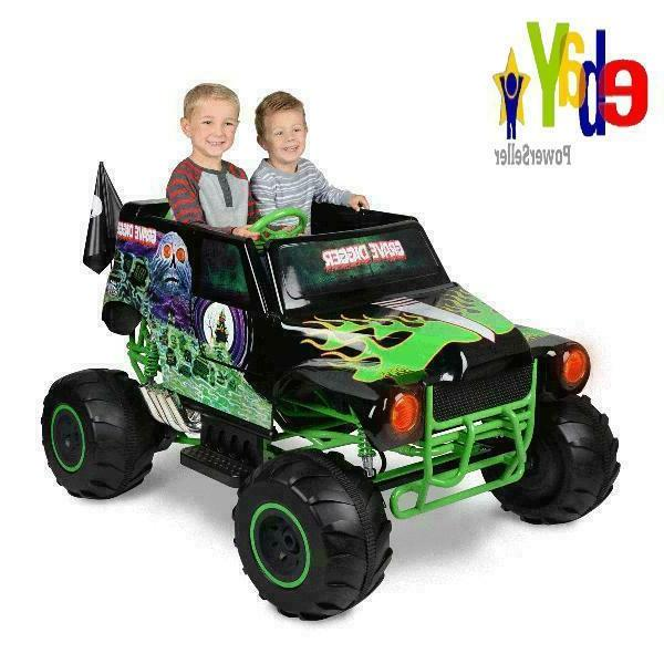 Ride On Toy Monster Jam Grave Digger 24