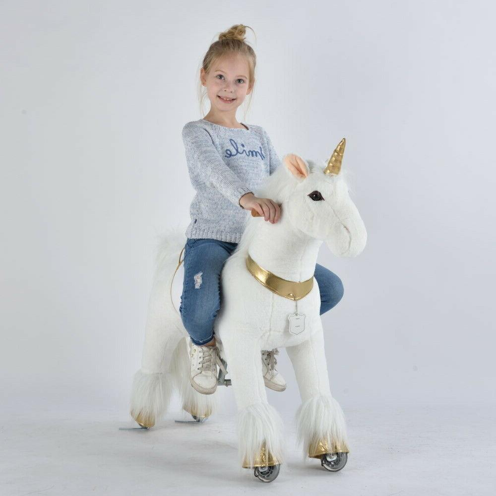 UFREE Ride on with Golden Toys as for Kids 4-9, Medium
