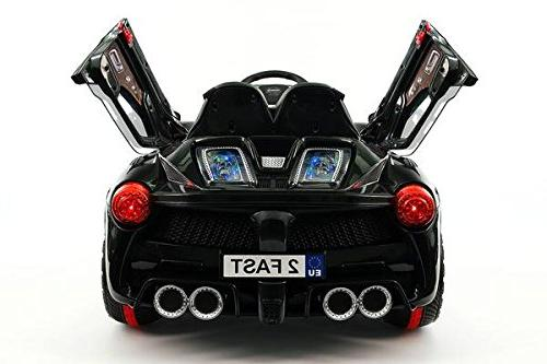 Moderno Kids Toy Car MP3 12V Electric Wheels Ferrari Style Kids
