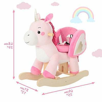 labebe - Baby Rocker Pink Ride