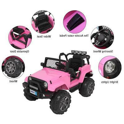 Safe on Jeep Toys Seat 3 Speed