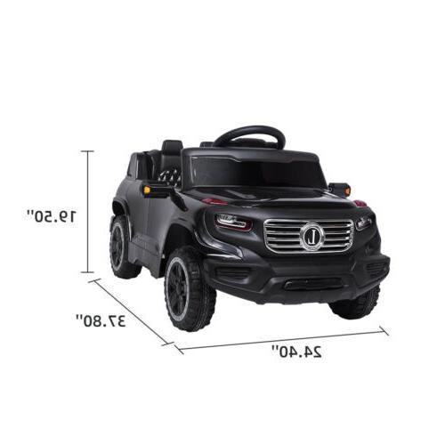 Safety Car Toys Power Wheels Light Control