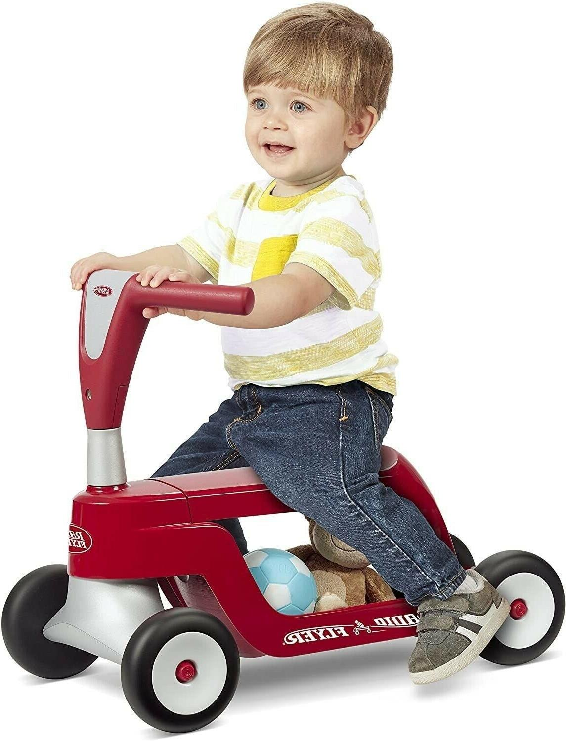 Radio Flyer Scooter, Toddler Ride on, Model: 615S