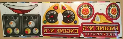 spray and rescue fire truck replacement decals