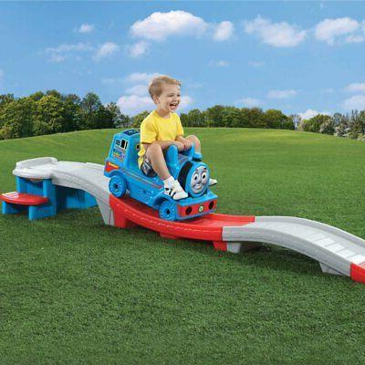 step2 thomas tank engine down roller coaster kids durable ri