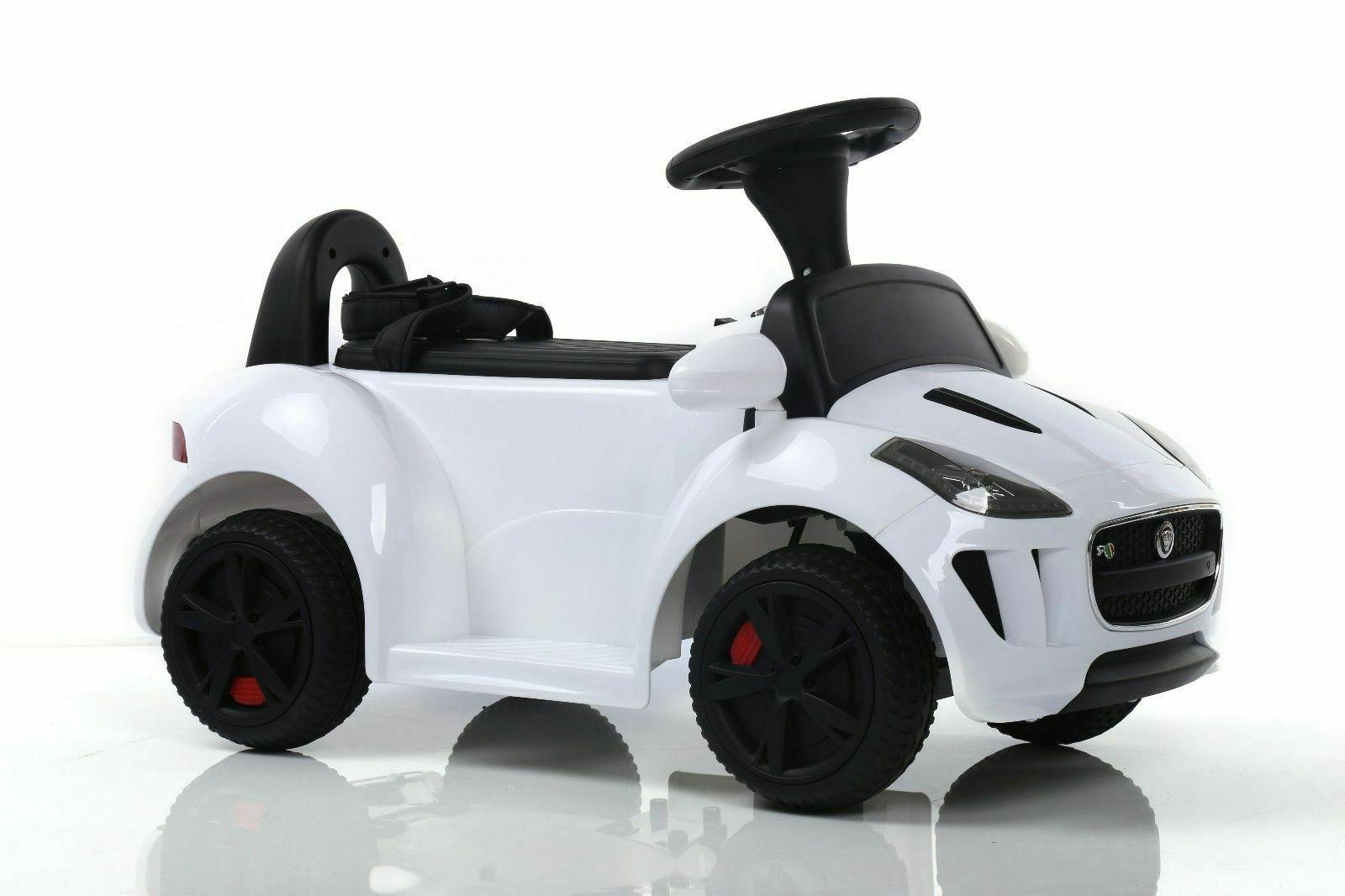 Toddler Ride On Toys 6V Push Car w/ Remote Music