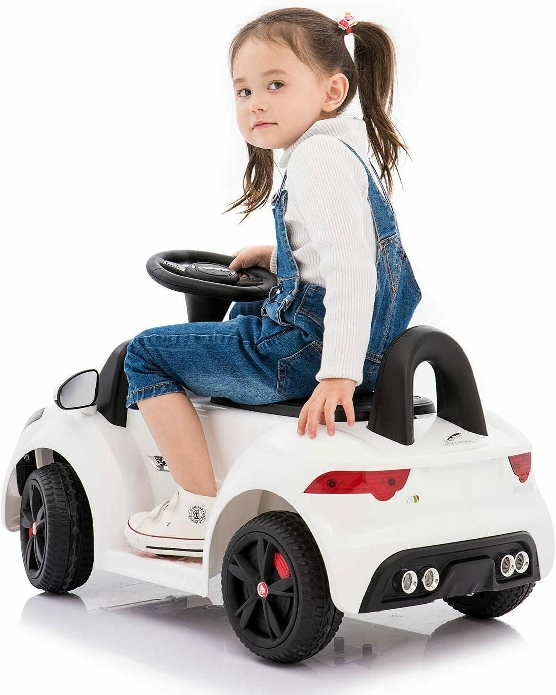 Toddler Ride 6V Car Remote Control Music