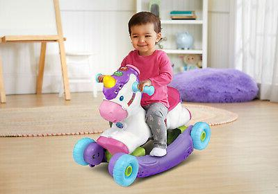 toddlers rocker ride on prance and rock