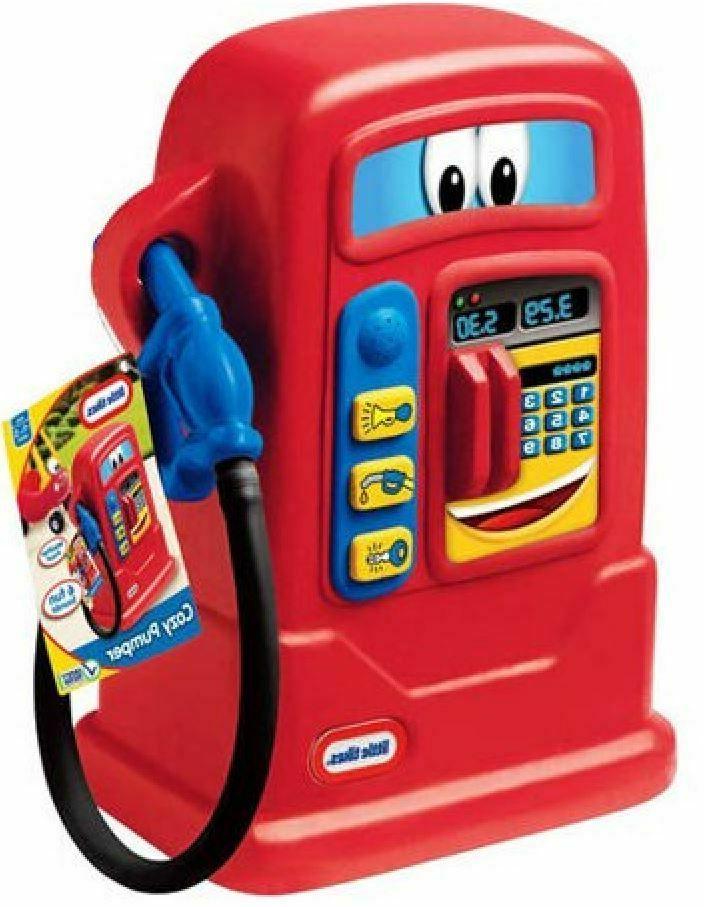 toy gas pump ride on car play