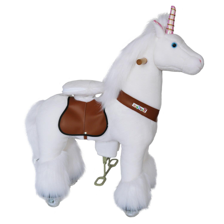 PonyCycle Unicorn & White Small Ride On Riding