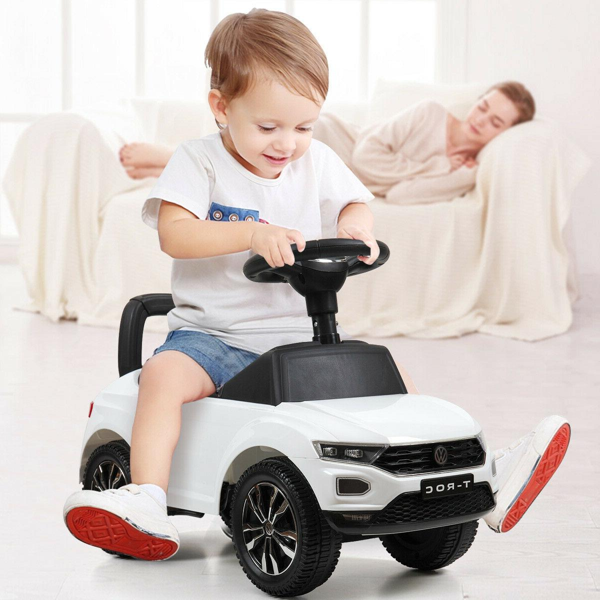 Ride On Push Car Baby Toddler Kids Powered Foot To Floor Rid