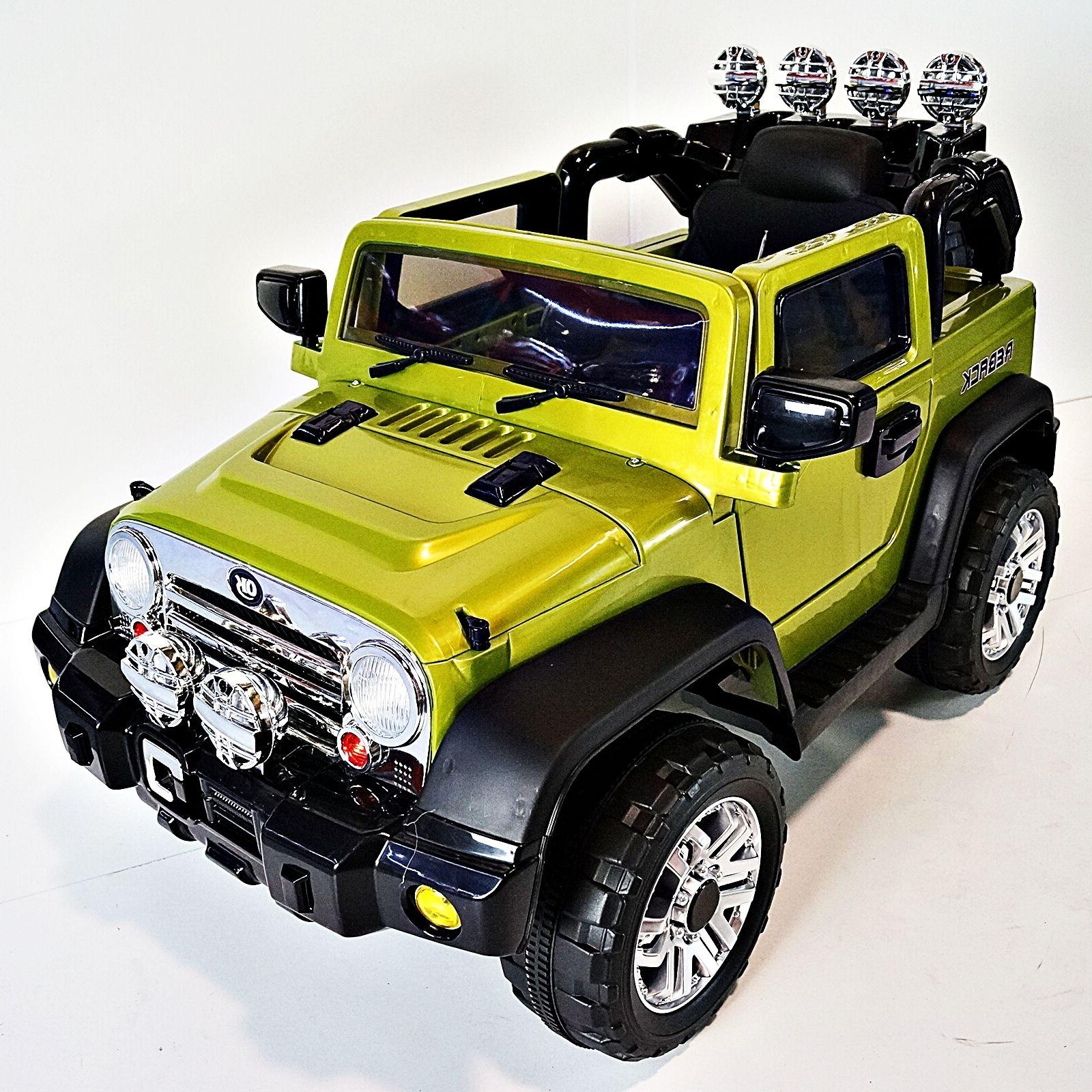 JEEP Wrangler Style For Kids Model JJ235 Ride On Car With Re