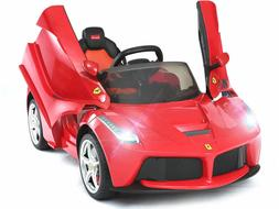 12V Ferrari LaFerrari Kids Electric Ride On Car with MP3 and