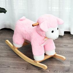 Lamb Sheep Ride-On Toy Rocking Horse Baby Toddler Nursery Pi