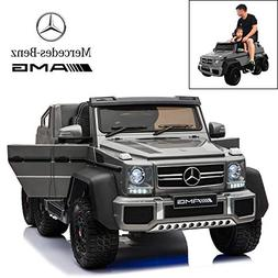 Licensed Mercedes Benz AMG G63 6x6 Electric Ride On Car for
