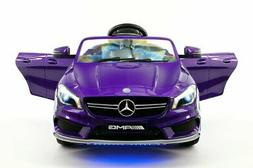 Moderno Kids Mercedes CLA45 Children Ride-On Car with R/C Pa