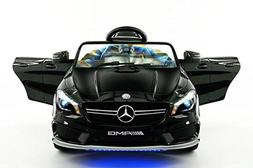 Licensed Mercedes CLA45 12V Kids Ride-On Car MP3 USB Player