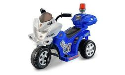 Kid Motorz Lil' Patrol 6-Volt Battery-Powered Ride-On Motorc
