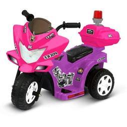 Kid Motorz Lil' Patrol 6-Volt Battery-Powered Ride-On, Purpl