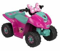 Power Wheels Lil' Quad Featuring Disney's Minnie Mouse Girls