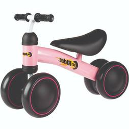 Lil' Rider Ride On Mini Trike Pink No Pedal Easy Grip Handle