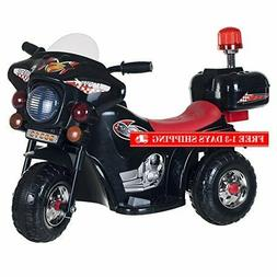 Lil' Rider Ride on Toy, 3 Wheel Motorcycle for Kids, Battery