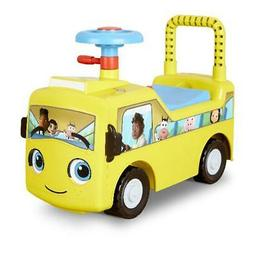 Little Baby Bum Wheels on the Bus Scoot and Push Ride On by