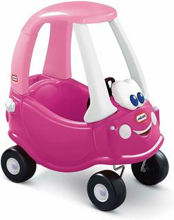 Little Tikes Princess Cozy Coupe Ride-On, Dark Pink 50 Pound
