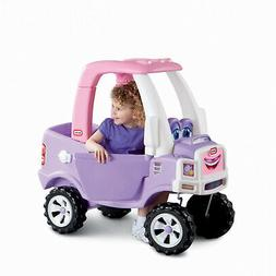 Little Tikes Princess Cozy Pink and Purple Kids Ride-On Truc