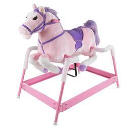 lucky talking plush spring horse