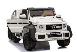 Luxury 4x4 Edition 6 Wheels Mercedes Benz G65 12V 14AMP Kids