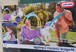 Little Tikes Magical Unicorn Carriage Ride On - Brand New !!