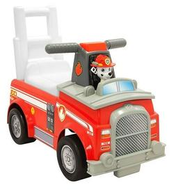 Paw Patrol Marshall Fire Truck Ride-On Toy Red Outdoor Toddl