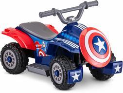 Marvel's Captain America Toddler Quad 6-Volt Ride-On Toy b