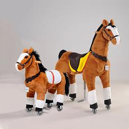 UFREE Large mechanical ride on horse PLUS Small rocking hors