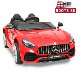Mercedes Benz 12V Electric Kids Ride On Toy Cars w/ Remote C