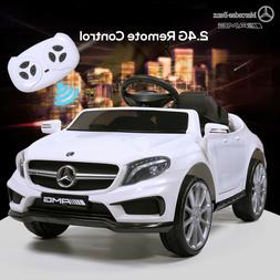 6V Electric Kids Ride On Toy Car Mercedes Benz RC Remote Con