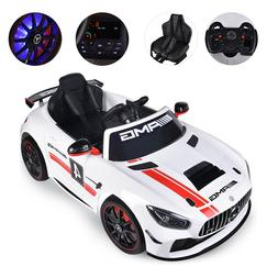 Mercedes Benz AMG GT 12V Kids Ride-On Car LED Electric Vehic
