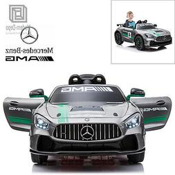 Mercedes Benz AMG GT4 12V Kids Ride On Car with Remote Contr