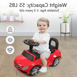 Mercedes-Benz Baby Toddler Kids Ride On Toy Push Car Foot To