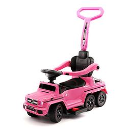 Moderno Kids Mercedes G63 AMG 6X6 Toddler Push Car Stroller