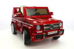 Moderno Kids Mercedes G65 Children Ride-On Car with R/C Pare