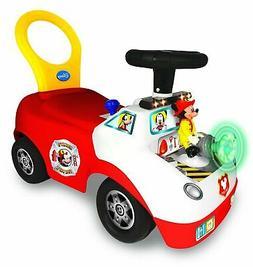 Kiddieland Toys Limited Disney Mickey Activity Fire Truck Ri