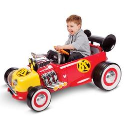Disney Mickey Roadster Racer 6-Volt Battery-Powered Ride On