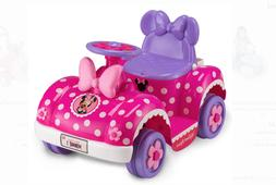 Minnie Mouse Pink Toddler Girls 6-Volt Quad Ride-On Toy